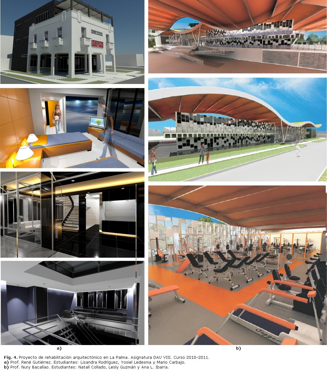 El dise o de interiores en la formaci n del arquitecto Asignaturas de la carrera de arquitectura